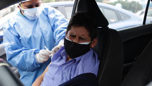 Vacunación contra el COVID-19 en el Perú. (Fotos: Fernando Sangama / GEC)