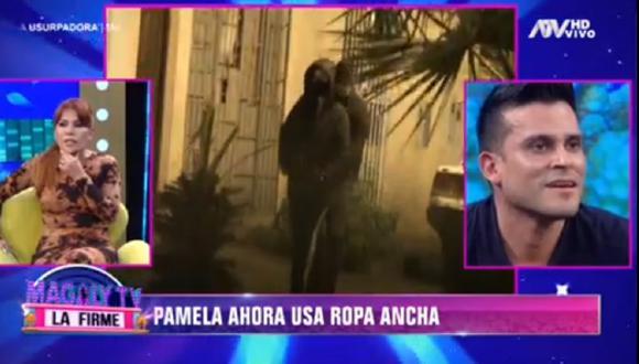Christian Domínguez habló sobre el posible embarazo de Pamela Franco. (Foto: Captura ATV)
