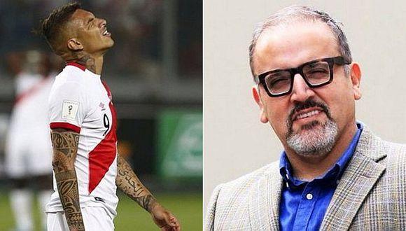 """Beto Ortíz a Paolo Guerrero: """"La soberbia se paga muy caro"""""""
