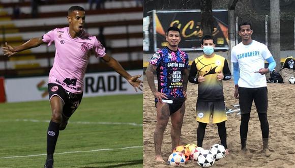El exfutbolista de Sporting Cristal, Sport Boys y Municipal no consiguió equipo esta temporada y actualmente practica footvolley