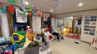 Emblemática hincha japonesa de las olimpiadas busca un 'Plan B' para disfrutar Tokio 2020
