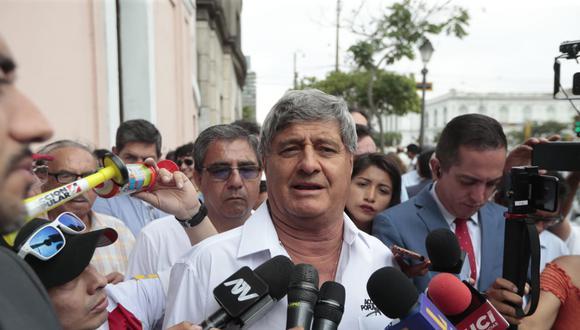 El exvicepresidente Raúl Diez Cansejo confirmó su precandidatura por Acción Popular. (Foto: Hugo Pérez / GEC)