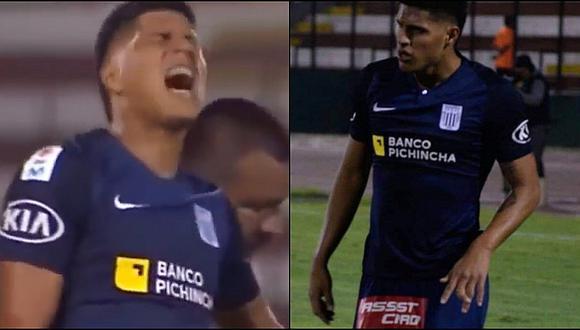 Hansell Riojas y la escalofriante lesión que sufrió en la victoria de Alianza