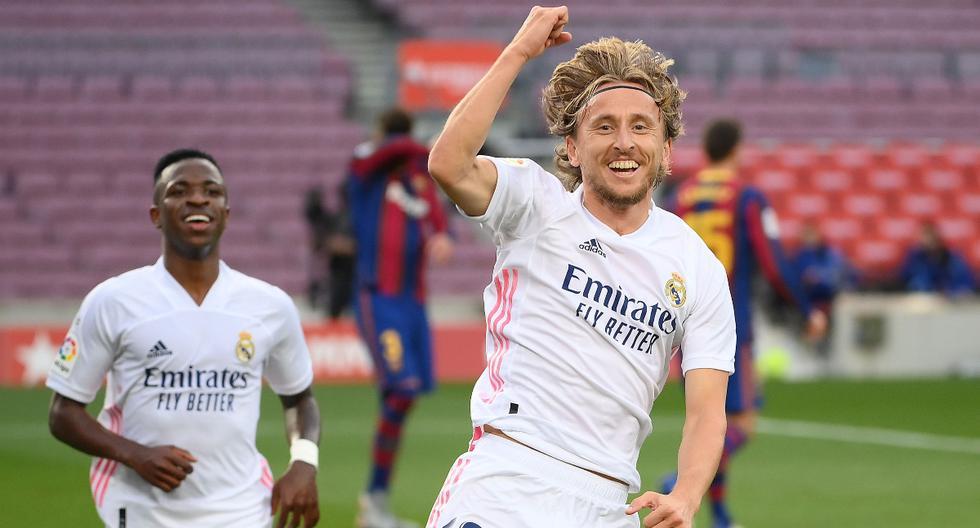 """Luka Modric: """"Es algo increíble, un orgullo grande jugar 400 partidos para el Real Madrid"""""""
