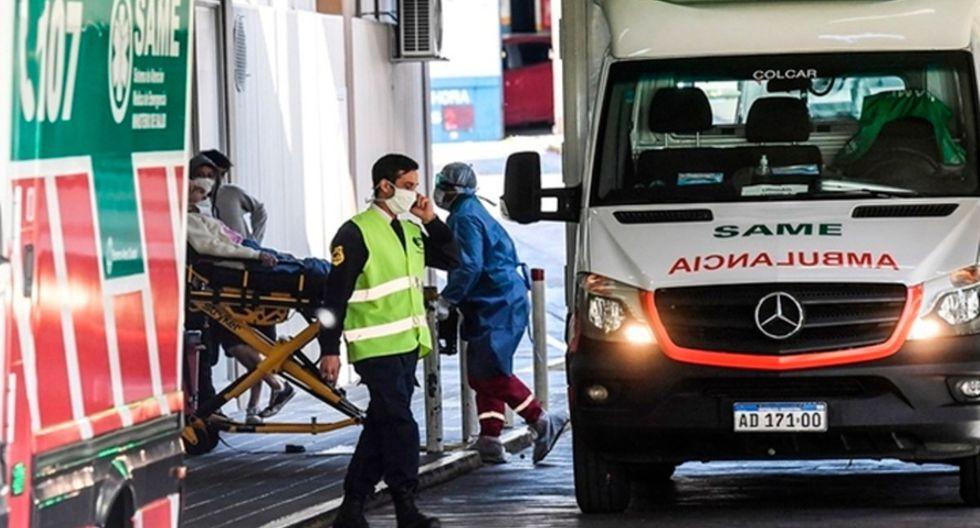 Argentina reporta 2.208 infectados y 96 fallecidos