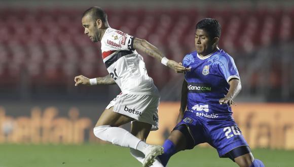 Binacional perdió por 5-1 ante Sao Paulo por Copa Libertadores 2020. (Foto: AFP)