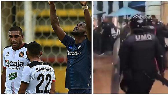 Melgar: hinchas intentaron agredir a jugadores tras la goleada en Copa Sudamericana   VIDEO