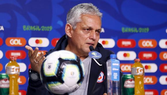 Reinaldo Rueda es entrenador de Chile desde el 2018. (Foto: EFE)