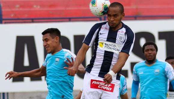 Alianza Lima y Deportivo Llacuabamba empataron 2-2 en el estadio Iván Elías Moreno.