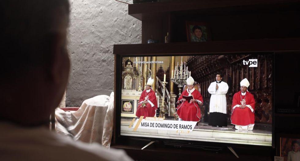 Domingo de Ramos y algunos fieles mantienen sus costumbres, desde casa. | Foto: GEC