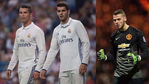 Cristiano Ronaldo, Morata y De Gea involucrados en millonaria transacción