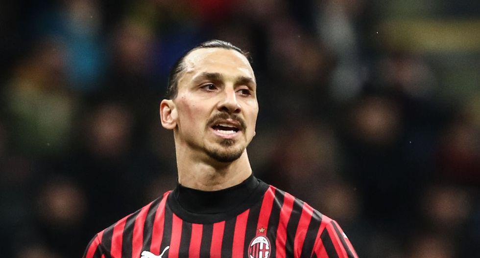 Zlatan Ibrahimovic llegó al AC Milan tras jugar en LA Galaxy de la MLS. (AFP)