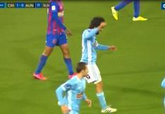 Sporting Cristal vs. Alianza UDH: Jorge Cazulo adelantó a los celestes en San Marcos con golazo   VIDEO