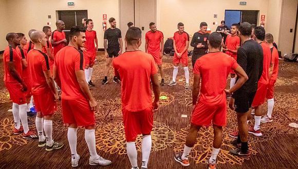 Así se prepara Caracas FC para enfrentar a Melgar por la Libertadores