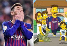 Lionel Messi | Antonela Roccuzzo, Thiago, Mateo, Ciro y su perro gigante Hulk en 'Los Simpson' | FOTO