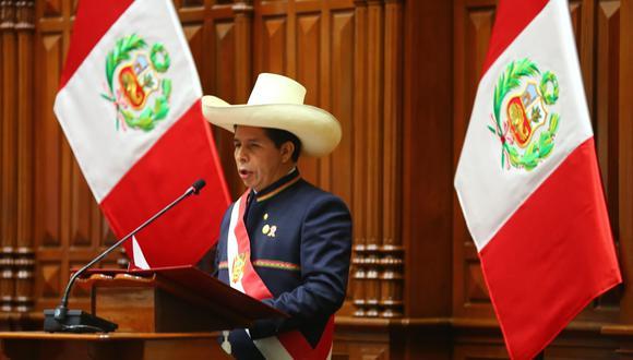Durante su mensaje presidencial en el Congreso de la República, el presidente Pedro Castillo, adelantó que se incrementarán horarios para atención de pacientes no COVID-19. (Foto: Congreso de la República)