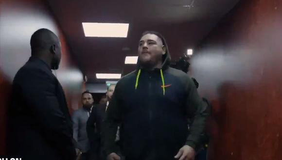 El británico Anthony Joshua sube al ring para intentar recuperar sus tres cinturones de los pesados ante el nuevo rey Andy Ruiz Jr. (Foto: ESPN)