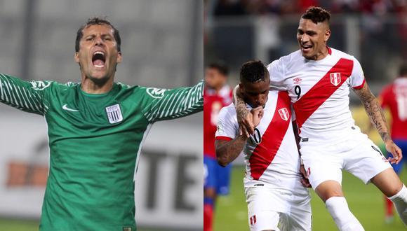 Leao fue compañero de Paolo y Jefferson en la Selección Peruana.