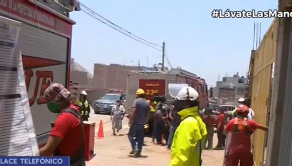 Policía Nacional y Ministerio Público tendrán que investigar muerte de jóvenes en un pozo, según Bomberos. (Captura: Canal N)