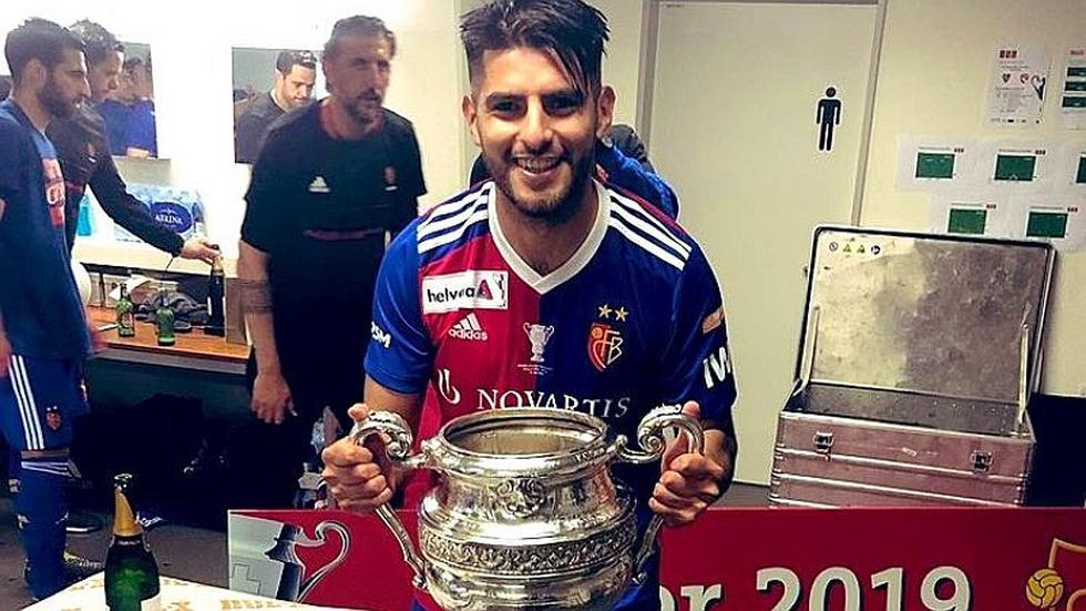 Selección peruana   Carlos Zambrano se consagró campeón de la Copa de Suiza con el Basel   FOTOS y VIDEO