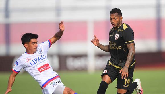 Universitario empató 0-0 ante Carlos Mannucci  por la fecha 9 de la Liga 1 en el estadio Iván Elías Moreno. (Foto: Liga 1)