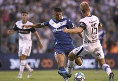 Con Luis Abram todo el partido: Gimnasia y Vélez Sarsfield empataron 0-0 por la Superliga Argentina