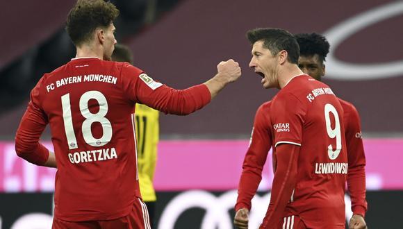 Bayern Munich consiguió su noveno título de Bundesliga esta temporada. (Foto: AP)