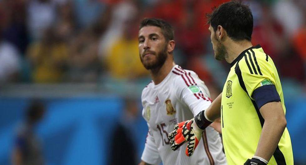 Mundial Brasil 2014: Lo que les dijo Iker Casillas a sus compañeros tras goleada de Holanda