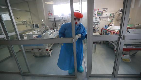 La cantidad de camas UCI aumentan de forma progresiva ante el incremento de casos debido a la segunda ola de coronavirus. (Foto: Lino Chipana)