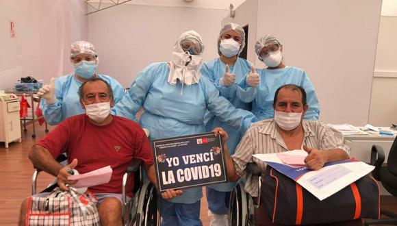 El número de recuperados aumentó este miércoles. (Foto: Ministerio de Salud)