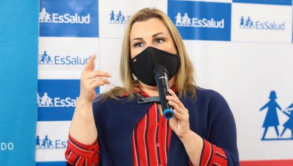 Fiorella Molinelli se pronunció sobre las compras sobrevaloradas en EsSalud y el caso 'El Club de las Farmacéuticas'. (GEC)