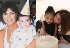 Kylie Jenner cumplió 23 años y el clan Kardashian invadió las redes con inéditas fotos familiares