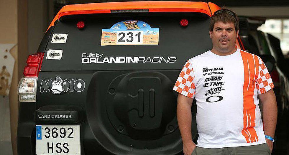 Raúl Orlandini listo para Mundial de Rallies Cross Country en Abu Dhabi