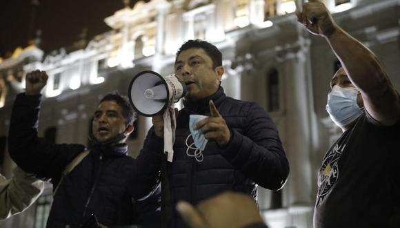 El congresista advierte que Perú Libre podría disolver el congreso. (Foto: Joel Alonzo / @photo.gec)