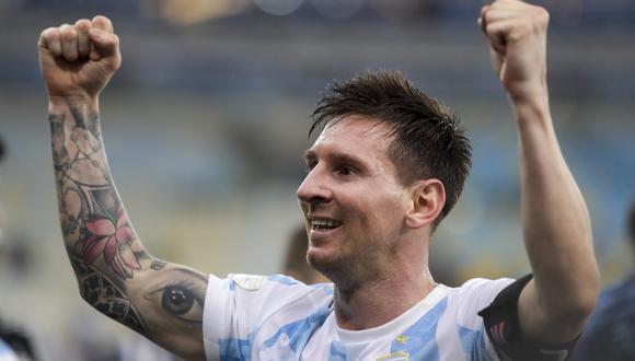 Lionel Messi consiguió la medalla de oro de los Juegos Olímpicos Bejing 2008. (Foto: AP)