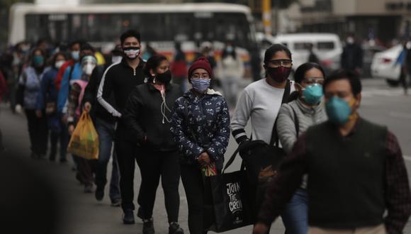 Coronavirus Perú HOY 14 de agosto EN VIVO: casos confirmados, fallecidos, recuperados y más detalles. (Foto: Leandro Britto)