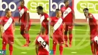 Selección Peruana: El disgusto de Christian Ramos hacia Cueva por no soltar el balón