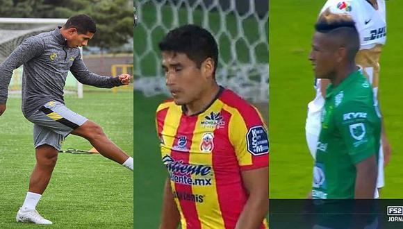Liga MX: así les fue a los peruanos en la fecha 8 del Torneo Apertura