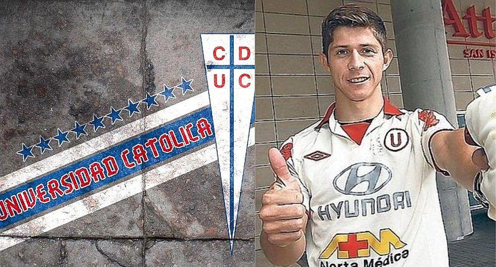 Ex Universitario de Deportes refuerzo de Universidad Católica
