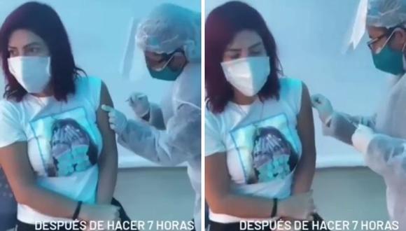 Milena Zárate recomendó a sus seguidores ver el listado de enfermedades raras del Ministerio de Salud. (Foto: Instagram @milenazaratedm).
