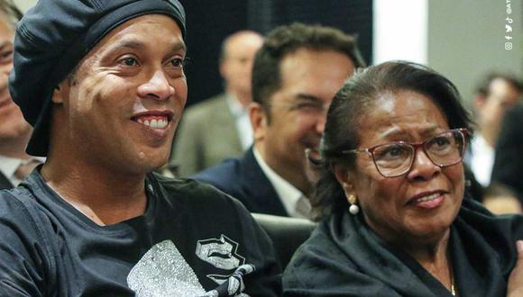El mensaje de Ronaldinho Gaúcho tras el fallecimiento de su madre. (Foto: Instagram)