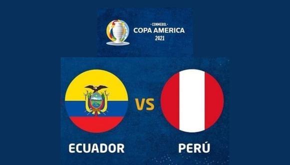 Este miércoles, la selección peruana se enfrenta nuevamente a Ecuador, esta vez por la fecha 3 de la Copa América 2021 de Brasil.