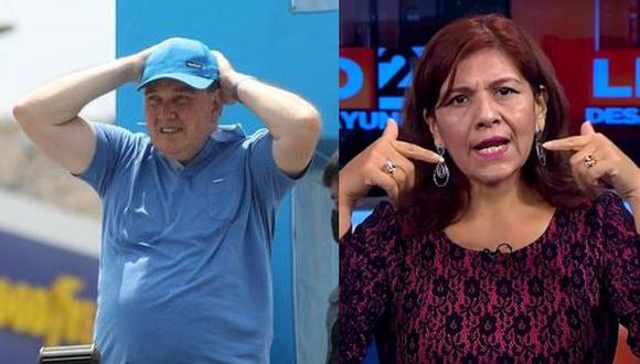 Neldy Mendoza, candidata al Congreso e integrante de la plancha presidencial de Rafael López Aliaga, dijo que se allana al pedido de su líder. (Foto: GEC/captura)