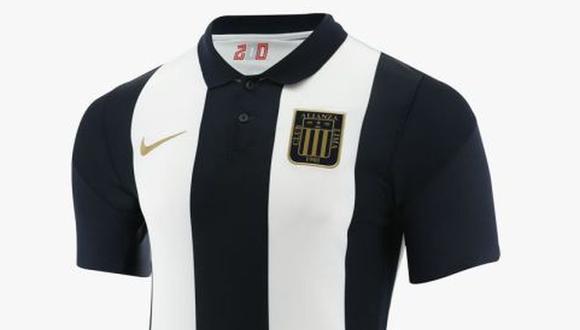 Alianza Lima presentó su camiseta para este 2021. (Foto: Alianza Lima / Marathon)
