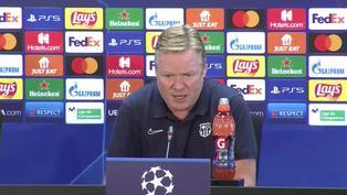 """Koeman: """"Mañana nos jugamos nuestro futuro en la Champions"""""""