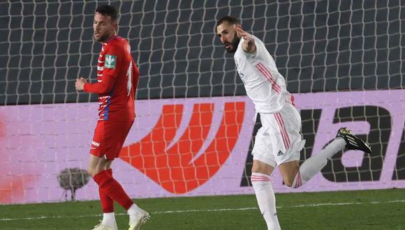 Real Madrid vs. Osasuna chocan en la jornada 18 de la Liga Santander. (Foto: EFE)