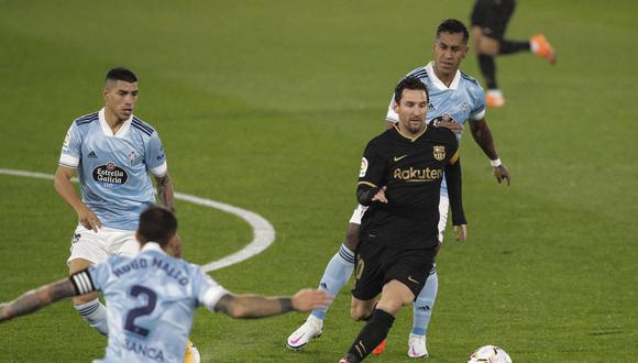Barcelona goleó 3-0 al Celta de Vigo de Renato Tapia por LaLiga [RESUMEN]