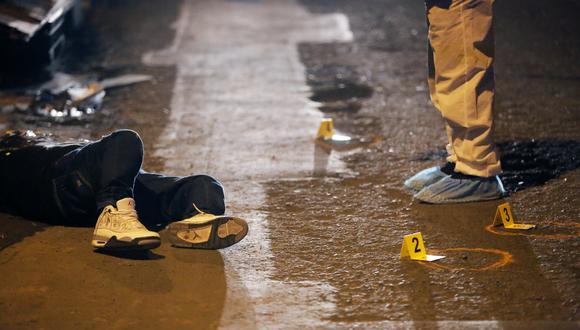 En Santa Anita, un hombre fue asesinado de cinco disparos por sicario.  (Foto: César Grados/@photo.gec)