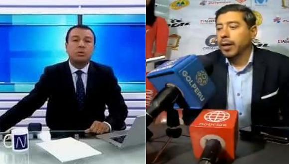 Universitario | Conductor de Canal N arremete contra Nicolás Córdova tras mala racha con la 'U' | VIDEO