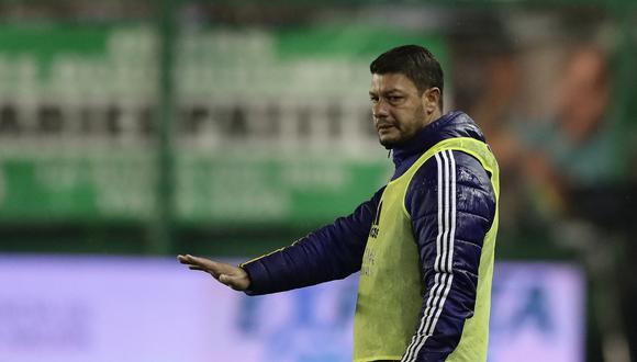 Battaglia ya dirigió a Boca Juniors cuando el plantel principal estuvo en cuarentena. (Foto: AFP)